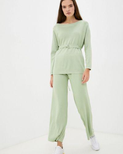 Зеленый зимний костюм Goldrai