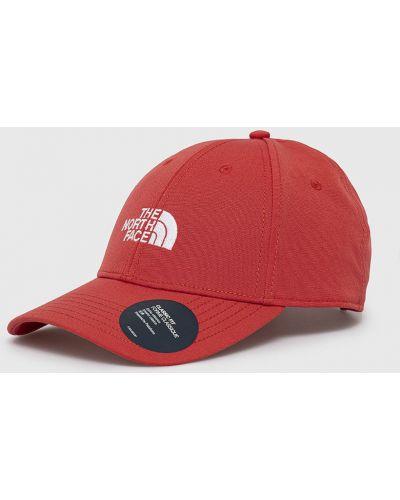 Czerwony kapelusz bawełniany The North Face