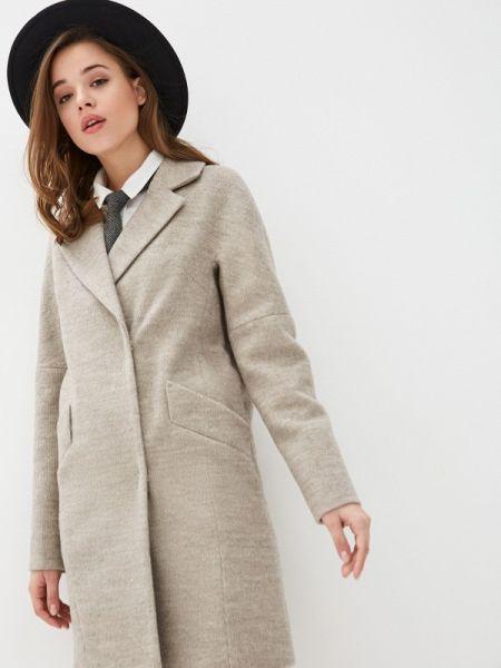 Коричневое пальто с капюшоном Giulia Rosetti