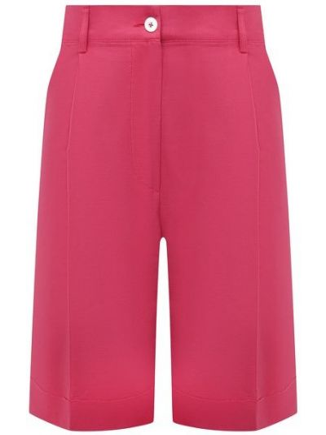 Розовые хлопковые шорты Kiton