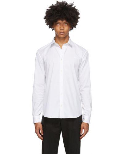 Koszula bawełniana z haftem z długimi rękawami Mcq Alexander Mcqueen
