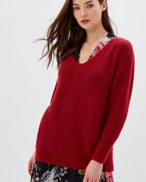 Пуловер - красный Moocci