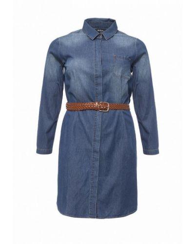 Повседневное платье джинсовое весеннее Ulla Popken