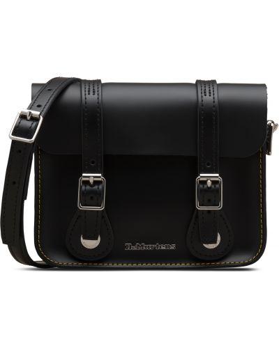 Черная кожаная сумка Dr Martens
