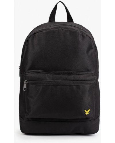 Городской черный рюкзак Lyle & Scott
