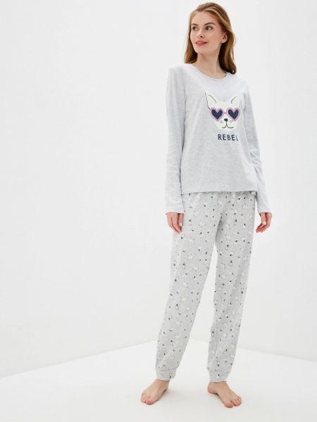 Пижама пижамный серая Nymos