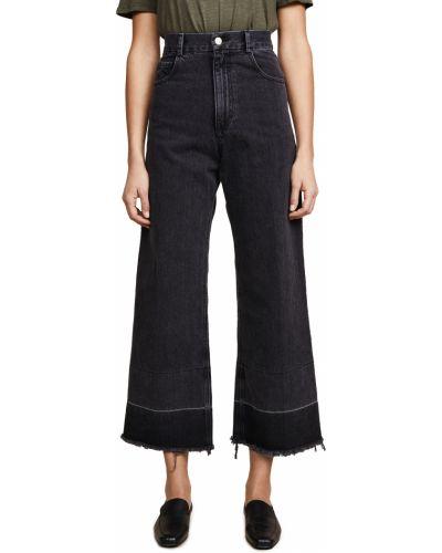 Джинсы с карманами - черные Rachel Comey