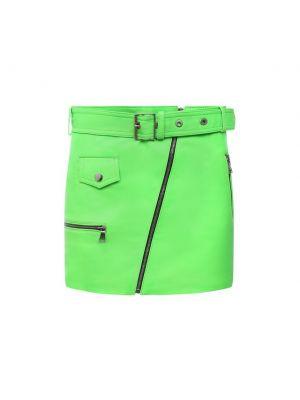 Зеленая юбка из полиэстера Manokhi
