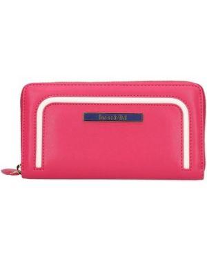 Różowy portfel Braccialini