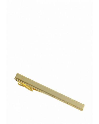 Зажим для галстука золотого цвета Lindenmann