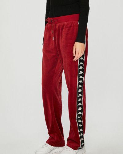 Свободные брюки из полиэстера с карманами Kappa