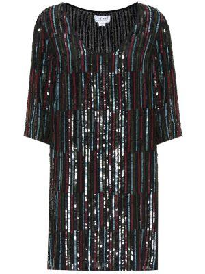 Платье с пайетками из вискозы Velvet