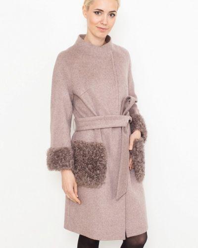 Зимнее пальто бежевое пальто Prima Woman