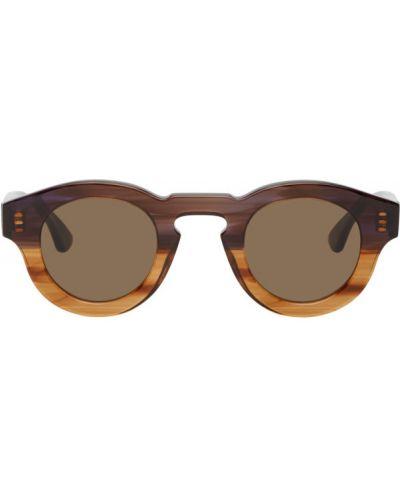 Czarne okulary skorzane Thierry Lasry