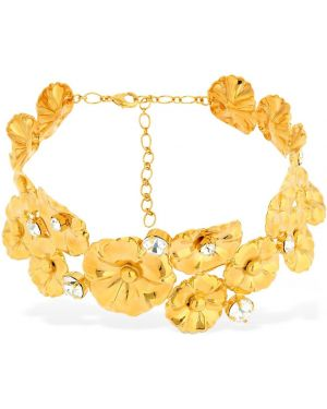 Żółty złoty choker Ca&lou