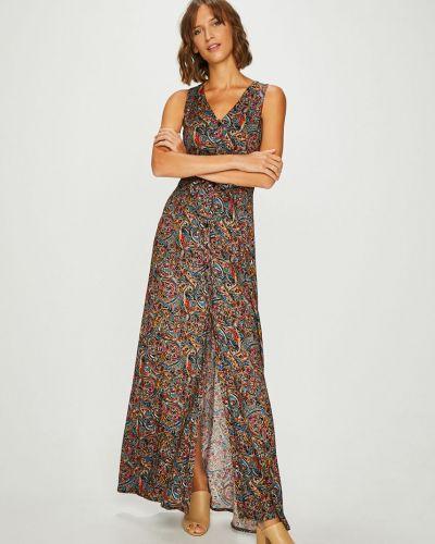 Платье макси на пуговицах прямое Answear