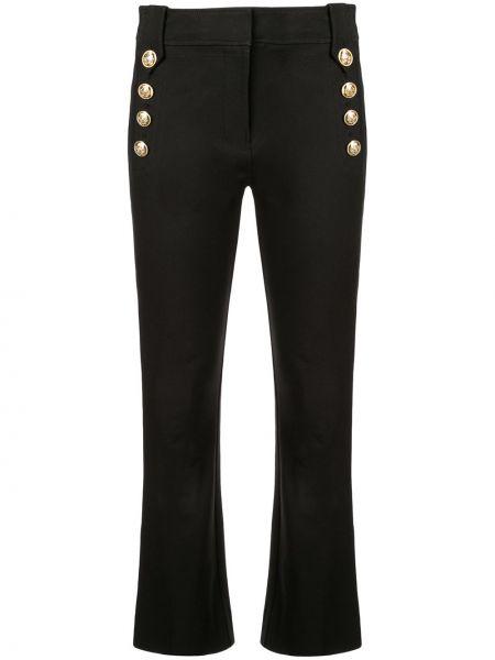 Укороченные брюки расклешенные в морском стиле Derek Lam 10 Crosby
