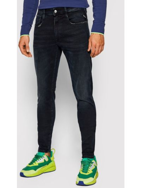 Mom jeans granatowe Replay