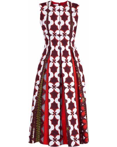 Платье миди расклешенное платье-поло Valentino