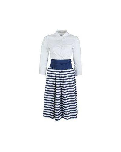 Хлопковое платье - белое Sara Roka