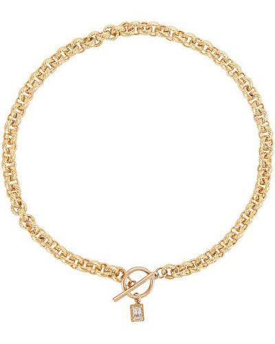 Złoty naszyjnik łańcuch vintage Epifene