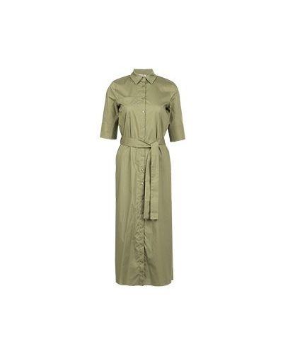 Деловое платье зеленый Twinset