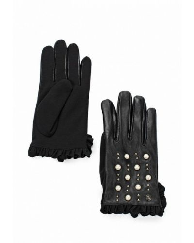 Черные перчатки River Island