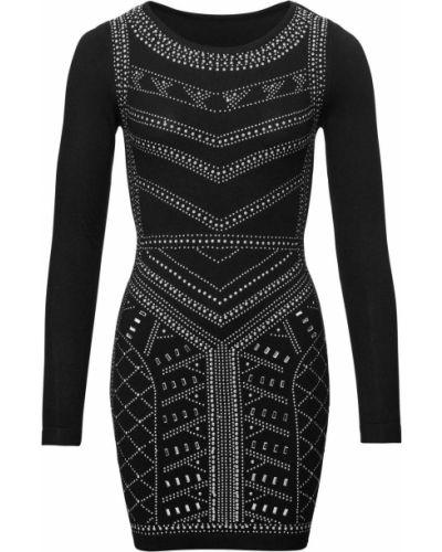 Вечернее платье коктейльное с аппликациями Bonprix