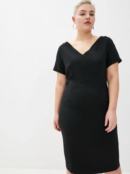 Платье футляр черное Persona By Marina Rinaldi
