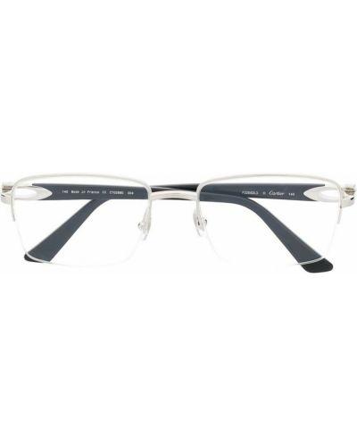 Czarne okulary Cartier