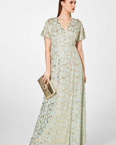 Платье макси весеннее Pedro Del Hierro