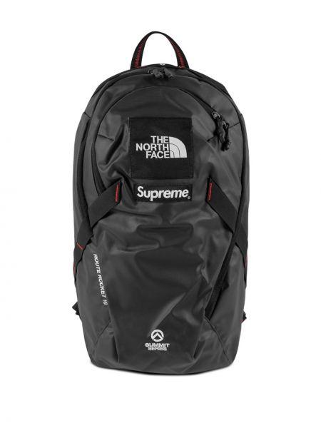Czarny plecak Supreme