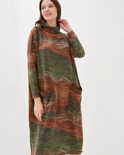 Платье вязаное осеннее Adzhedo