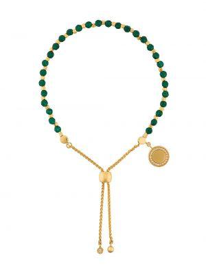 С ониксом желтый золотой браслет позолоченный Astley Clarke