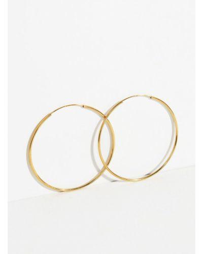 Золотые серьги серебряные золотой Parfois