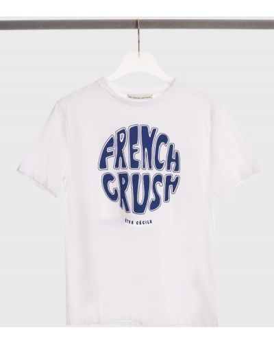 Хлопковая футболка - белая être Cécile