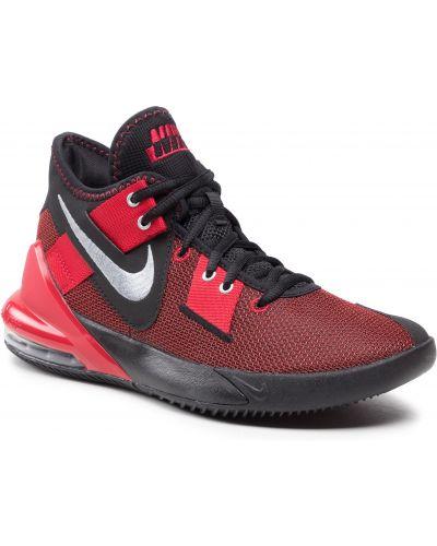 Półbuty srebrne - czarne Nike