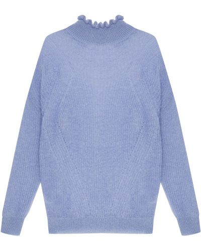 Вязаный свитер с воротником-стойкой с рюшами Essentiel Antwerp