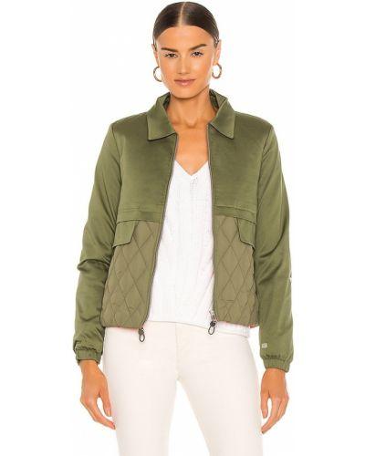 Куртка на молнии - зеленая Soia & Kyo