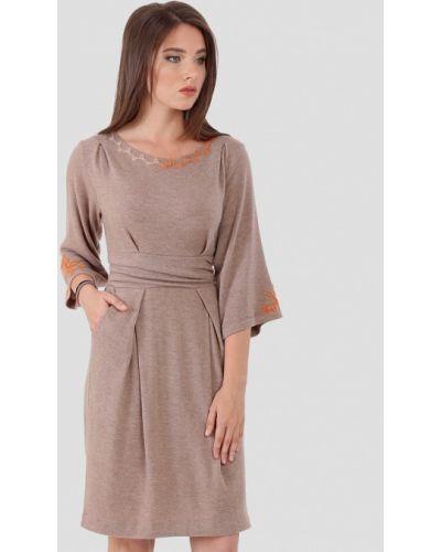Платье - бежевое Ано