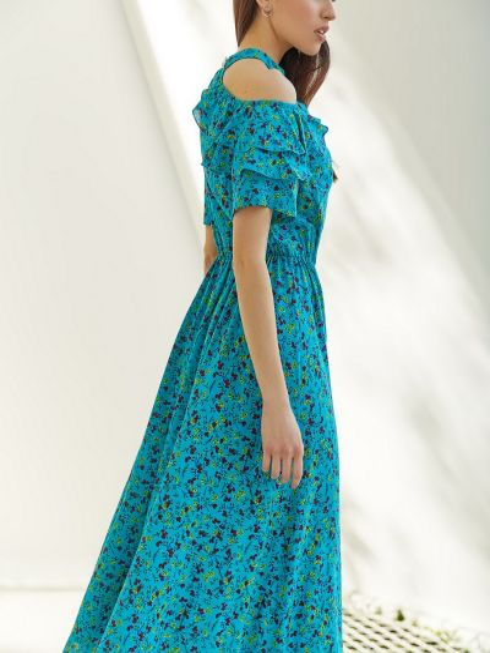 Бирюзовое платье Vovk