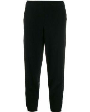 Черные брюки с поясом с манжетами Oyuna