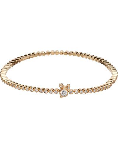 Złota bransoletka z diamentem Sophie Bille Brahe