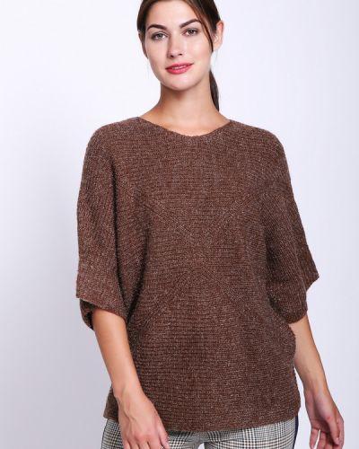 Коричневый пуловер Pezzo