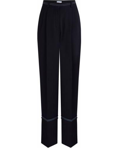 Свободные брюки с карманами с поясом Sonia Rykiel