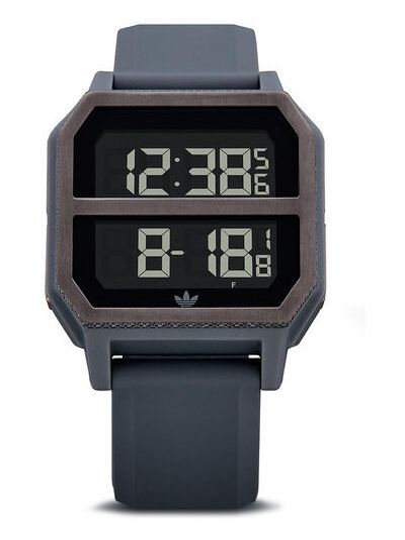 Szary zegarek Adidas