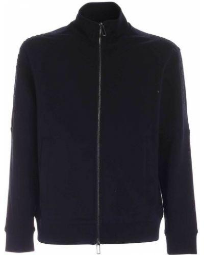 Czarna bluza dresowa Giorgio Armani
