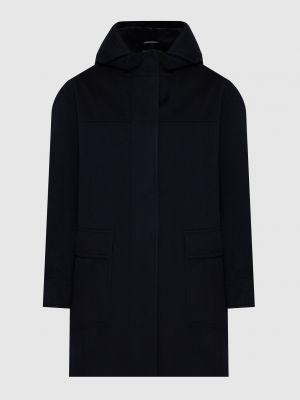 Кашемировое пальто - синее Loro Piana