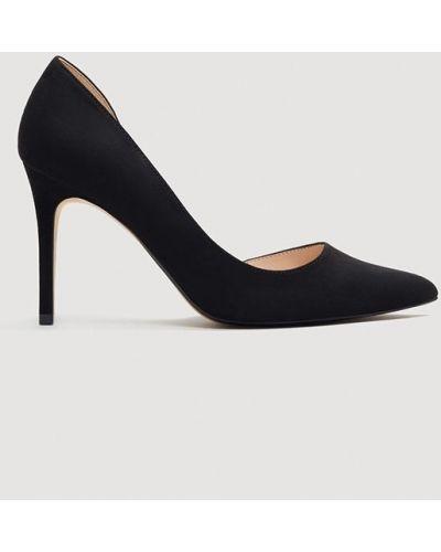 Туфли на высоком каблуке с острым носком на каблуке Mango
