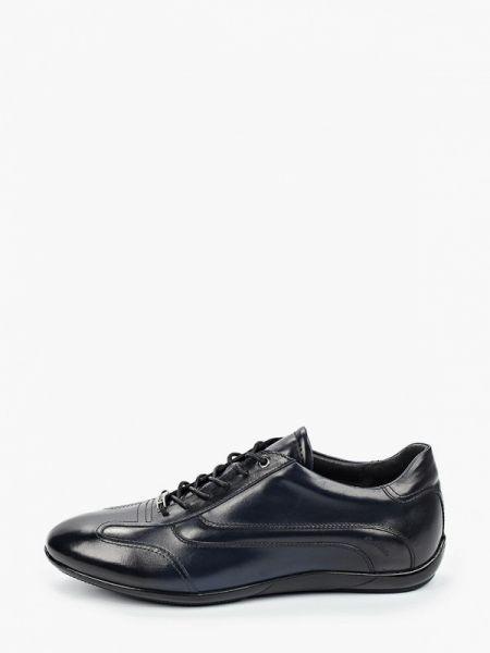 Синие кожаные туфли Roberto Piraloff